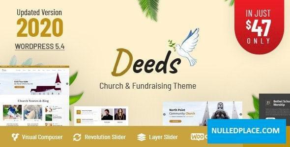 Deeds v8.0 – Best Responsive Nonprofit Church WordPress Theme
