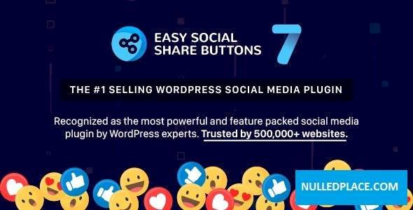 Easy Social Share Buttons for WordPress v7.1.2