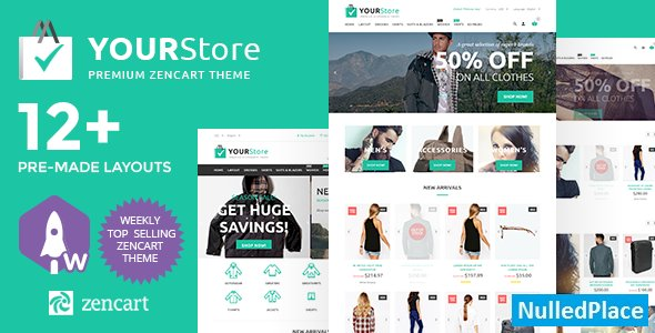 YourStore – Premium Zencart Theme