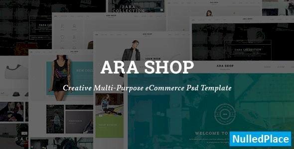 Ara – Fashion Store Multipurpose PSD Template
