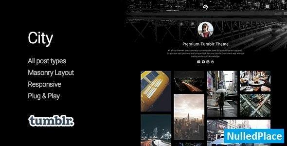 City v1.0 – High Quality Portfolio Tumblr Theme