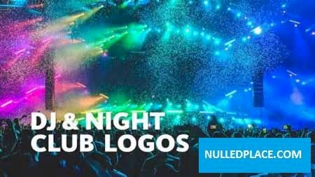 Videohive DJ Night Club Logos For Final Cut & Apple Motion 26601230 Free