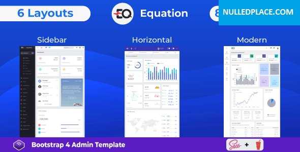 Equation v1.0 – Responsive Admin Dashboard Template