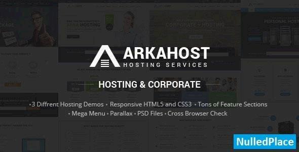 Arka Host – Responsive Hosting & Corporate Template