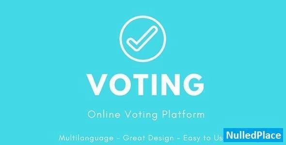Voting v3.0 – Online Voting Platform