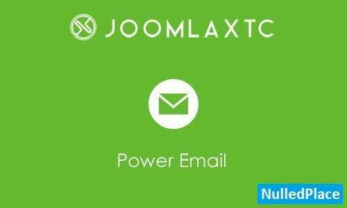 JoomlaXTC – Power Email v1.1.0 – Joomla Extension