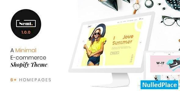 Nemi v1.0.0 – Multi Store Responsive Shopify Theme