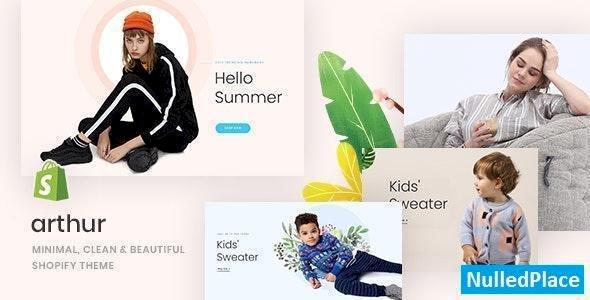 Arthur v1.0.0 – Minimal, Clean & Beautiful Shopify Theme