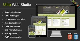 Ultra Web Studio Nulled v.2.18 – Blog & Portfolio WordPress Theme Free Download
