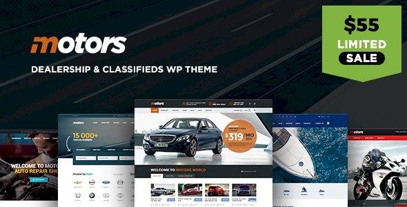 Motors – Automotive, Car Dealership, Car Rental, Vehicle, Bikes, Classified Listing v4.9.0