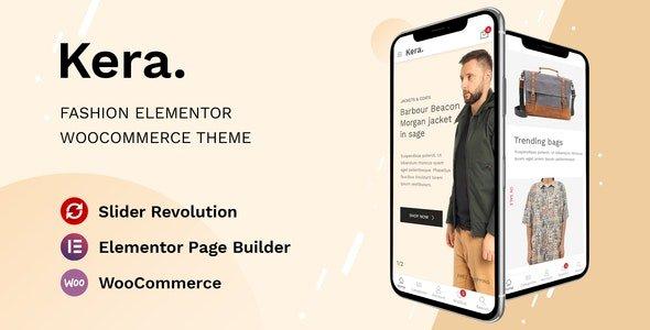 Kera – Fashion Elementor WooCommerce Theme v1.1.2