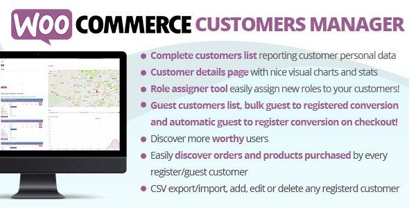 WooCommerce Customers Manager v25.9