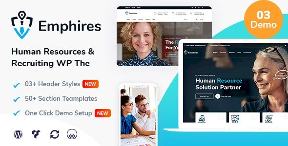 Emphires – Human Resources & Recruiting Theme v2.0