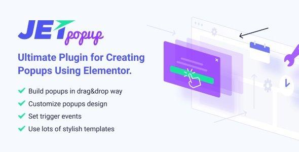 JetPopup – Popup Addon for Elementor v1.5.1