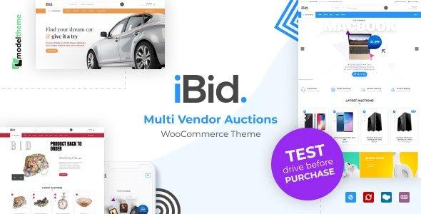 iBid – Multi Vendor Auctions WooCommerce Theme v3.3