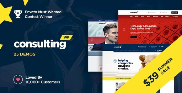 Consulting – Best #1 Business, Finance WordPress Theme v6.2.2