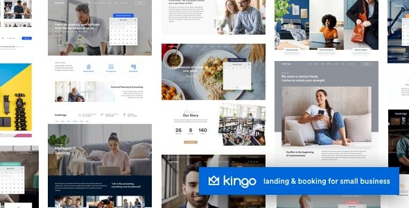 Kingo   Booking WordPress for Small Business v2.4.1