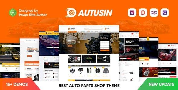 Autusin – Auto Parts & Car Accessories Shop Elementor WooCommerce WordPress Theme v2.2.1