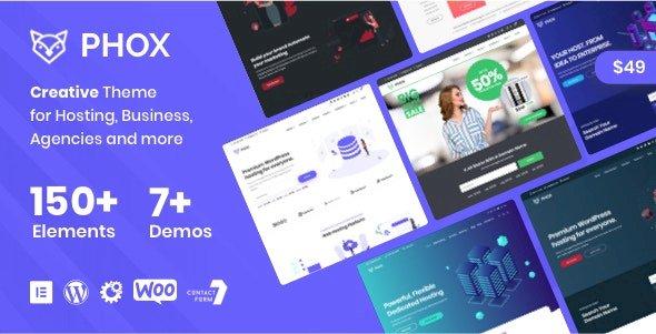 Phox – Hosting WordPress & WHMCS Theme v2.0.5