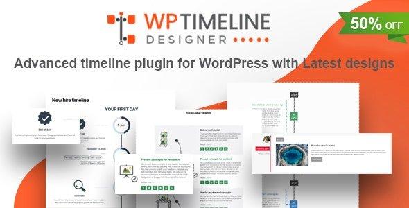 WP Timeline Designer Pro – WordPress Timeline Plugin v1.3